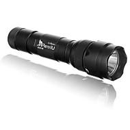 levne Svítilny-LS152 UV svítilny LED 400/500/900/1000 lm 1 5 Režim Cree XM-L U2 Cree XM-L2 T6 Odolný proti nárazům Protiskluzové držadlo Strike Bezel