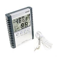 """tanie Pomiar temperatury-2,5 """"LCD cyfrowy wilgotności / higrometr i termometr (1 * aaa)"""