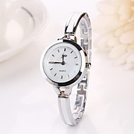 Women's Wrist Watch Gold Watch Quartz Silver Casual Watch Analog Ladies Charm Fashion - Silver Golden