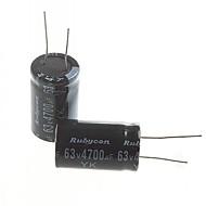Electrolytic Capacitor 4700UF 63V (2pcs)
