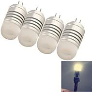 baratos Luzes LED de Dois Pinos-YouOKLight 120 lm G4 Lâmpadas Espiga 8 leds SMD 3014 Decorativa Branco Quente AC 12V DC 12V