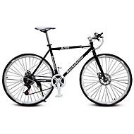 Bicicletas de estrada Ciclismo 21 velocidade 26 polegadas/700CC SHIMANO TX30 Freio a Disco Duplo Comum Manocoque Comum Aço