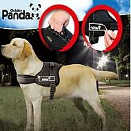 お買い得  犬用カラー/リード/ハーネス-犬 ハーネス 調整可能 / 引き込み式 パッド入り ナイロン ブラック レッド 迷彩色