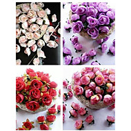 cheap Wedding Flowers-Wedding Flowers Bouquets Others Decorations Wedding Party / Evening Material Silk 0-20cm