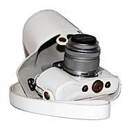olcso -dengpin® pu bőrből készült tok táska fedezetet Olympus PEN E-PL7 epl7 17mm vagy 14-42mm objektívvel