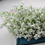 valkoinen silkki vauvan hengitystä kimppu 6 kpl / paljon kukkakuvio ja häät koristelu