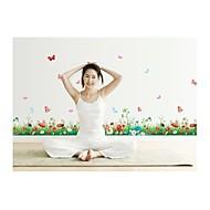 billiga Väggklistermärken-Djur Blommig Tecknat Botanisk Väggklistermärken Animal Wall Stickers Dekrativa Väggstickers, Vinyl Hem-dekoration vägg~~POS=TRUNC Vägg