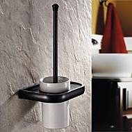 Tuvalet Fırçası Tutacağı / Antik Pirinç Neoklasik