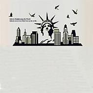 環境取り外し可能な自由のPVCタグの彫像&ステッカー