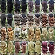 Synthetisch - Meerkleurig - Haarextensies - voor Vrouw - Gekruld/Golvend/Natuurlijk golvend/Los golvend/Body Golf/Diepe Golf/Kinky Curly/Watergolf