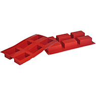 billige Bakeredskap-Four-C silikon kake muggsopp terning bakeware panner bakeformene fargen lilla rød