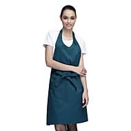 billige Forklæder-35% bomuld mørkegrøn medium typen forklæde