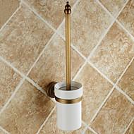 Tuvalet Fırçası Tutacağı / Antik Pirinç Antik