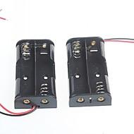 2 Packs The 5th Battery Box  Battery Box for AA Batteries 3V (2PCS)