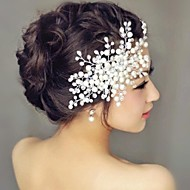cheap Wedding Headpieces-Pearl Hair Combs Headpiece Wedding Party Elegant Feminine Style