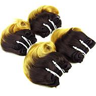 Nuance Brasiliansk hår Bølget hår vævninger