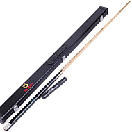 cheap Billiards & Pool-Three-quarter Two-piece Cue Cue Sticks & Accessories Snooker / English Billiards / Pool Professional / Durable Wood 1.45 m