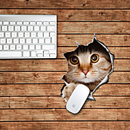 kočka design dekorativní podložka pod myš mac kůže samolepky mac příslušenství
