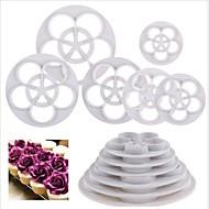Desert Decorators Čokoladno smeđa Keksi Torta/kolači plastika Eco-friendly Visoka kvaliteta Mjereće