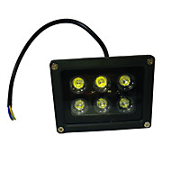 LED-schijnwerperlampen Roteerbaar 6 Krachtige LED 660 lm UV (blacklight) K AC 85-265 V