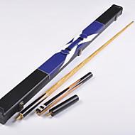 Dreiviertelzweiteilige Cue Cue Sticks & Zubehör Englisch Billard Blau Snooker Holz