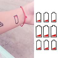 タトゥーステッカー メッセージシリーズ Non Toxic 腰 Waterproof子供用 女性 男性 大人 青少年 フラッシュタトゥー 一時的な入れ墨