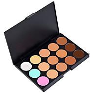 15 boja 3u1 profesionalni maskirne fizička lica korektor / temeljac / bronzer šminka kozmetički palete