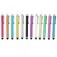 billiga Mobil cases & Skärmskydd-kinston® 12 x universell framgång metall stylus pekskärm penna klipp för iPhone / iPad / Samsung och andra