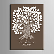 billige Signaturrammer og fat-Særlige Rammer & Plader Papir Hage Tema BryllupWithMønster Bryllupstilbehør