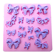 mini bowknot formálja szilikon öntőforma torta forma sütés konyha sugarcraft dekoráció eszköz