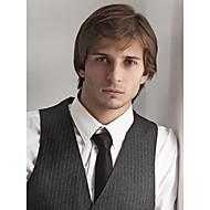korkealuokkaiset capless laadukkaita mono top hiuksista Miesten peruukit 9 värivaihtoehtoa