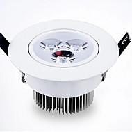 billige Innfelte LED-lys-Innfelt lampe Innfelt retropassform leds Høyeffekts-LED Varm hvit Kjølig hvit 500-550lm 3000/6000K AC 85-265V