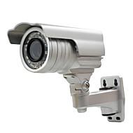 billige Overvåkningskameraer-1/3 tommers ccd 1000tvl vanntett kamera bullet zoom overvåkningskamera for hjemmets sikkerhet