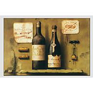 billiga Stilleben-HANDMÅLAD StillebenModerna / Europeisk Stil En panel Kanvas Hang målad oljemålning For Hem-dekoration