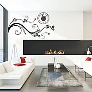 Moderne/Contemporain Personnages Inspiré Mariage Famille Amis Dessin animé Horloge murale,Nouveauté Plastique Autres Intérieur/Extérieur