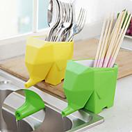 jumbo elefanten bestik indehaver tandbørsteholder (tilfældig farve)