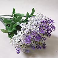 billige Kunstige blomster-Gren Polyester Plastikk Lyseblå Bordblomst Kunstige blomster