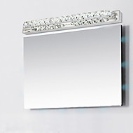 Crystal/LED Wall Sconces/Bathroom Lighting , Modern/Contemporary LED Integrated Metal