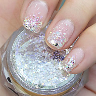 cheap Nail Art-1 Glitter & Poudre Powder Sequins Abstract Fashion High Quality Daily