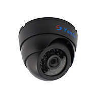 yanse® 1000tvl 2.8mm plast innendørs d / n CCTV kamera ir 24 ledet kuppel kablet 632cf