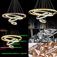 billige Takbelysning og vifter-Lysekroner Omgivelseslys - Krystall LED, Tiffany Land Traditionel / Klassisk Moderne / Nutidig, 110-120V 220-240V, Kald Hvit, Pære