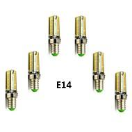 billige Bi-pin lamper med LED-400-450lm E14 G9 LED-kornpærer T 104 LED SMD 3014 Varm hvit Kjølig hvit 2800-3000/6000-6500K AC 220-240V