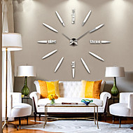 cheap Wall Clocks-Modern/Contemporary Metal AA Clay & Dough Kits Wall Clock