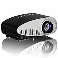 LCD HVGA (480x320) Kivetítő,LED 120lm Mini Hordozható HD Kivetítő