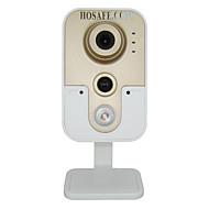 billige Utendørs IP Nettverkskameraer-HOSAFE 1 mp IP-kamera Innendørs Brukerstøtte 32 GB / CMOS / 50 / 60 / Dynamisk IP-adresse / Statisk IP Adresse