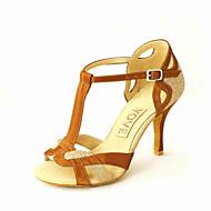 Dansesko(Sort Blå Rød Sølv Guld) -Kan tilpasses-Personligt tilpassede hæle-Damer-Latin Salsa