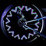 billige Sykkellykter og reflekser-Sykkellykter hjul lys Baklys til sykkel Frontlys til sykkel LED - Sykling Vanntett Anti Glide Cellebatterier 500 Lumens Batteri