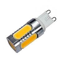 billige Kornpærer med LED-ywxlight® g9 led cornlampe 5 cob 900 lm varm hvit kald hvit dekorativ ac 220-240 v 1pc