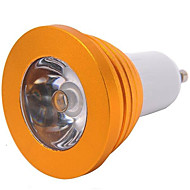 billige Spotlys med LED-YWXLIGHT® 1pc 3 W 300 lm E14 / GU10 / E26 / E27 LED-spotpærer 1 LED perler Høyeffekts-LED Mulighet for demping / Fjernstyrt RGB 85-265 V / 1 stk.