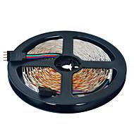 JIAWEN 5 m Fleksible LED-lysstriber 300 lysdioder 3528 SMD RGB Chippable / Koblingsbar / Passer til Køretøjer 12 V 1pc / Selvklæbende